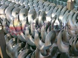 Спираль шнека (витки, сегменты)