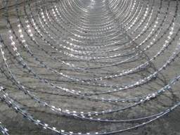 Спиральный барьер ограждения
