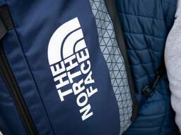 Спортивная сумка-рюкзак синяя THE North FACE для обуви