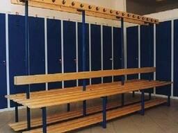 Спортивное оборудование для раздевалок, фитнес клубов, бассе
