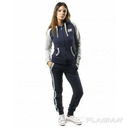 Спортивный костюм женский Leone Grey/Blue L