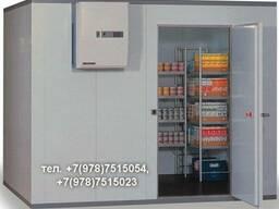 Среднетемпературные холодильные камеры.Доставка,монтаж.