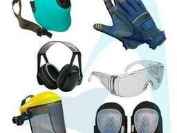 Средства защиты (щитки, наушники, очки, перчатки)