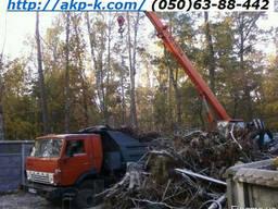 Срезание растений, Устранение деревьев