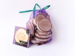 Срезы из дерева для декора 20 шт