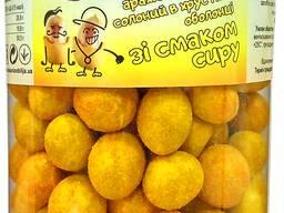 Сrispy арахіс в хрусткій оболонця зі смаком сиру 500г (15шт/ящ)
