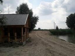 Срочно продам земельный участок с водоемом