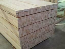 Экспорт срощенной заготовки из дерева