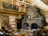 Срубы шале деревяние дома сруб бани дачные дома канадский - фото 3