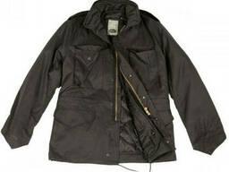 США куртка М65 с подстежкой черная