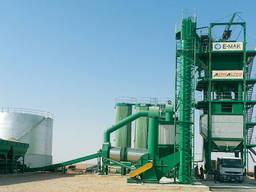 Стационарный асфальтный завод E-MAK GreenType 200 т/ч.