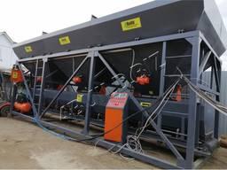 Стационарный бетонный завод, бетоносмесительное оборудование