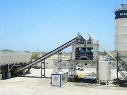 Стационарный бетонный завод серии Elkomix от компании Elkon