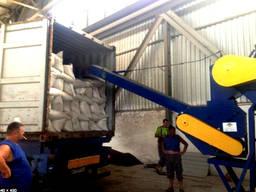 Стафировка погрузка зерна в контейры Харьков-Лиски