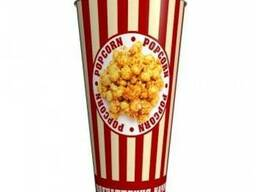 Стакан бумажный для попкорна