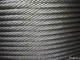 Стальной канат ГОСТ 2688-80, диаметр 3,6мм, купить, цена