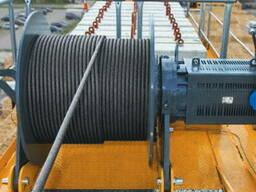 Стальной канат, грузовой трос, диаметр - 18 мм, длина - 330