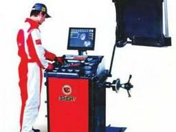 Балансировка колёс для легковых авто с ЖК-монитором