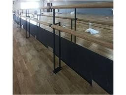 Станок балетний підлоговий фарбований метал