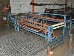 Станок для изготовления сетки канилированной