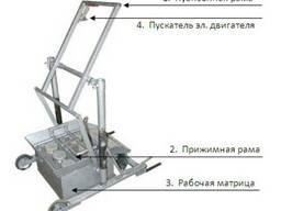 Станок для производства шлакоблоков 390х190х188 в Полтаве.