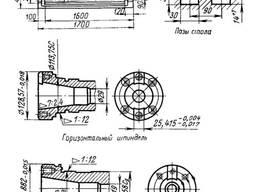 Станок консольно-фрезерный широкоуниверсальный 6Р83Ш.