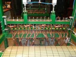 Станок контактной сварки для производства сварной сетки
