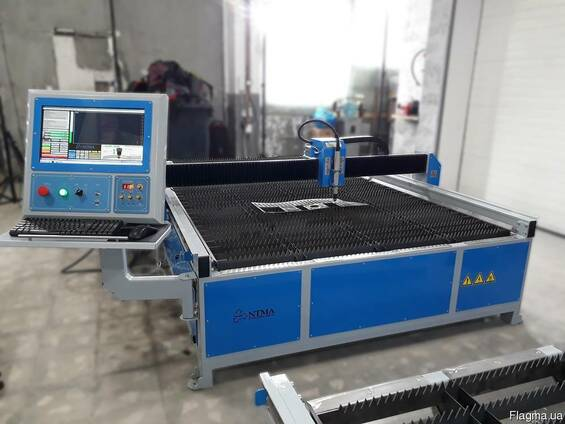 Станок плазменной резки металла с ЧПУ (CNC) 1500х3000