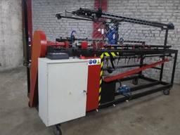 Станок сетки рабицы автомат СА-2 ЧПУ