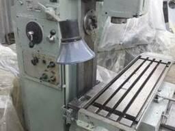 Станок универсально-фрезерный 6Т80Ш после ревизии, проверка