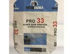 Клей для плитки универсальный StarBau Pro-33. 25кг.