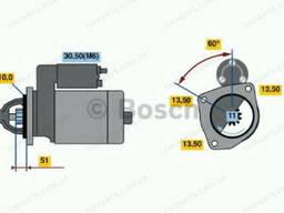 Стартер DAF XF, CF EURO2 (1284775 | 986021200 Bosch)