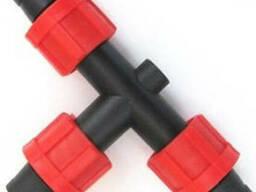Стартконнекторы и соединители для капельных лент 16 мм капел
