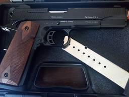 Стартовый пистолет KUZEY 911 черный второй магазин