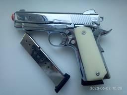 Стартовый пистолет KUZEY 911-SX хром второй магазин