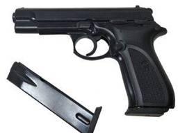 Стартовый пистолет SUR 1607 black запасной магазин