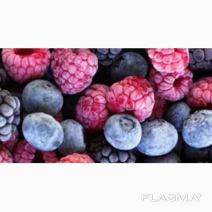 Статична заморозка ягід, фруктів, грибів та інших харчових п