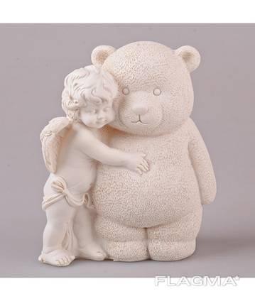 Статуэтка Ангелочек с медведем