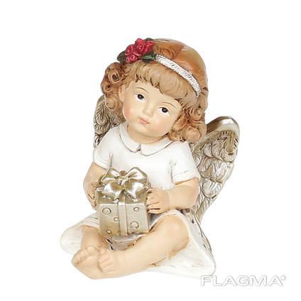 Статуэтка Ангелочек с подарком 7 см.