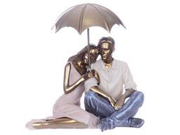 Статуэтка Пара под зонтом 17 см