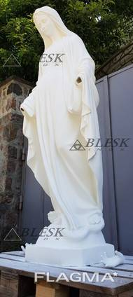 Статуя скульптура Мария матерь Божья из полимерного бетона