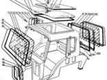 Стекло боковое, заднее, фронтальное на трактор