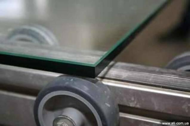 Стекло флоат 4, 5, 6 мм, обработка стекла