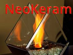 Стекло огнестойкое для каминов и печей Neoceram Япония