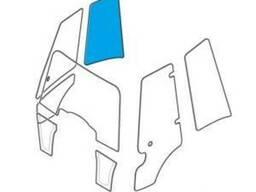 Стекло заднее левое боковое и правое экскаватора-погрузчика