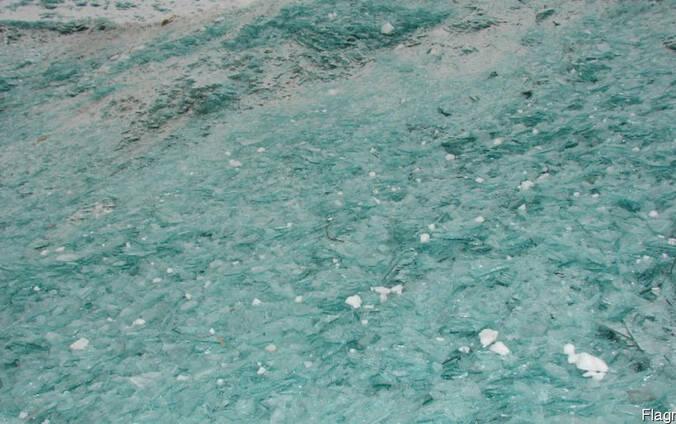 Стеклобой (белый, цветной)