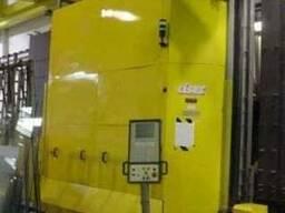 Стеклопакетная линия Lisec 2500Х3500 с газ прессом,
