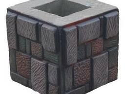 Стеклопластиковая форма для наборного столба