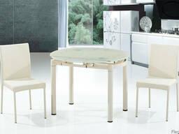 Стеклянный стол B812 серый, крем, красный кухни купить Киев