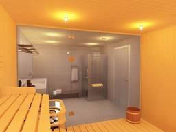 Стеклянные двери для бани и сауны от производителя